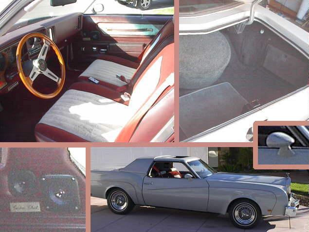 complete car restoration of a 1976 chevy custom cloud. Black Bedroom Furniture Sets. Home Design Ideas